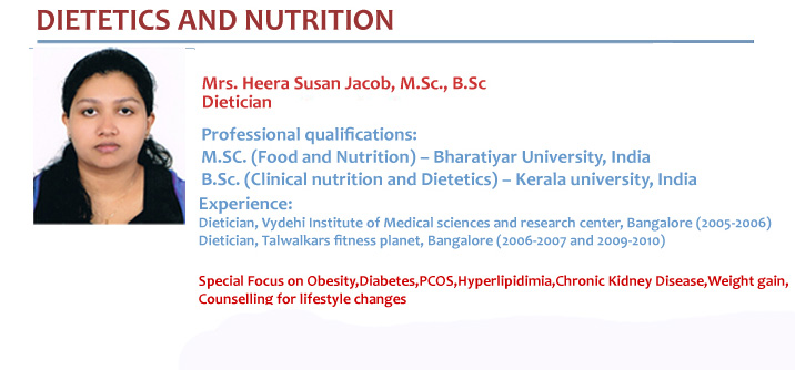 Dietetics and Nutrition